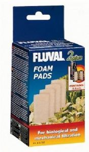 Fluval 2+ Plus Foam Pad Pack of 4 Genuine Product Replacement Foams
